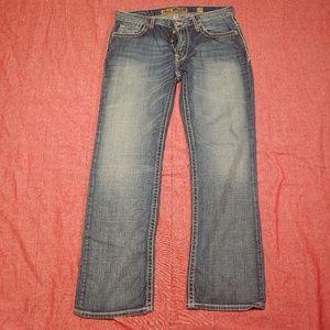 BKE Carter 34 Medium wash bootcut jeans 34x32